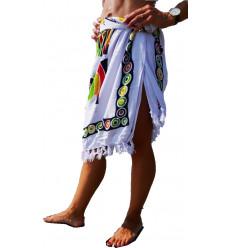 Sarong african, dress, or beach skirt. Clothing beach not expensive.