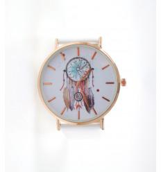 Orologio donna di fantasia modello di Cattura-Sogni - Cinturino bianco