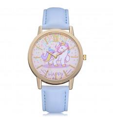 Orologio da donna modello unicorno rosa braccialetto. Consegna Francia Libera !