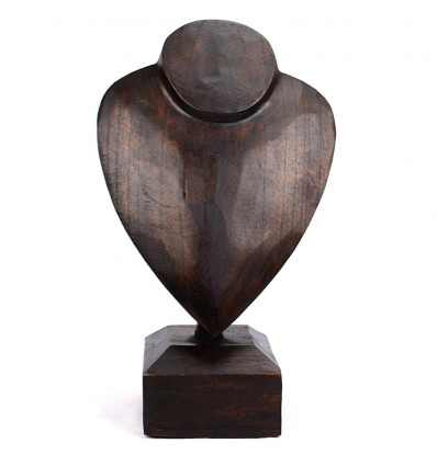 Bust display necklace original wood professional.