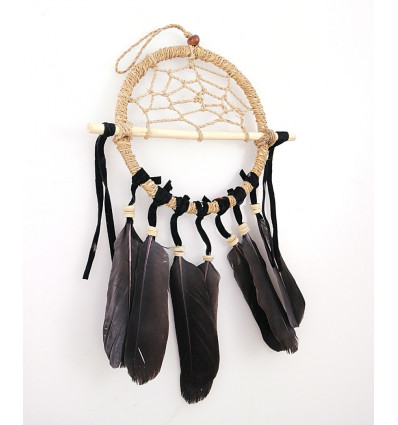 Dreamcatcher bianco puro - ideale specchietto retrovisore !