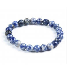Bracelet Lithotherapie Sodalite - Confidence and serenity