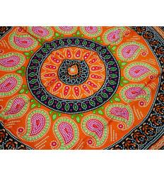 Tenture motif Mandala 170x115cm / paréo de plage, foulard, sarong...