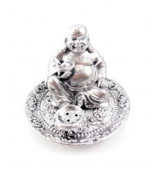 Incenso titolari, il Buddha che ride con un cuneo in mano