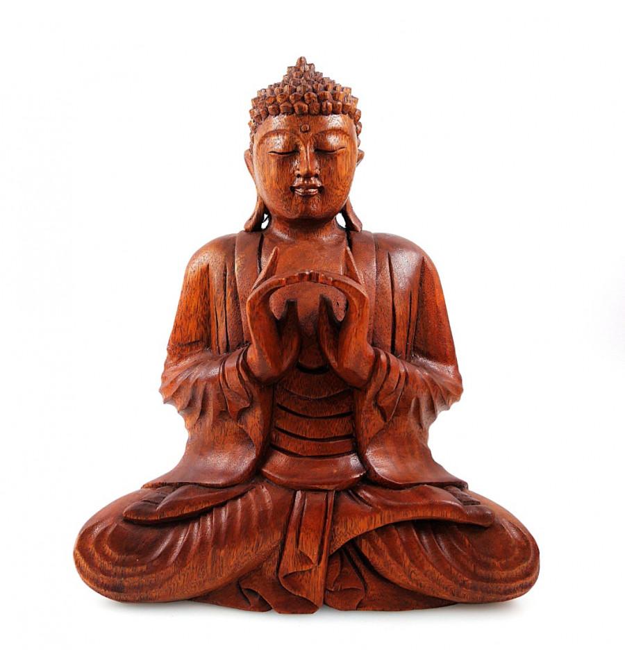 Bouddha Rieur Signification Position sculpture buddha shakyamuni seated in a wood. buddha statue