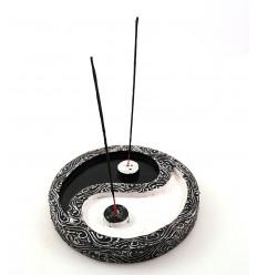 Grande incenso titolari cinese Yin Yang per bastoni.