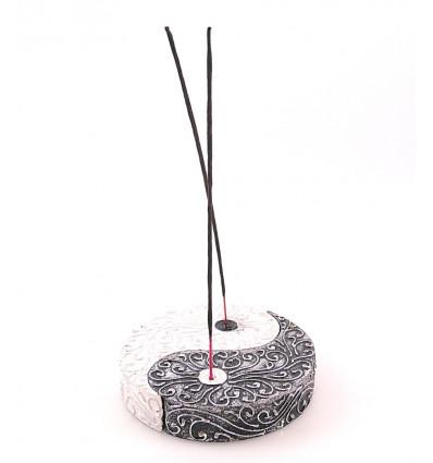 Porte-encens chinois yin yang décoratif en bois pour bâtons. Achat.
