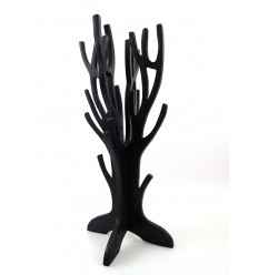 "Jewelry tree / storage wood jewelry finish ""black vintage"""