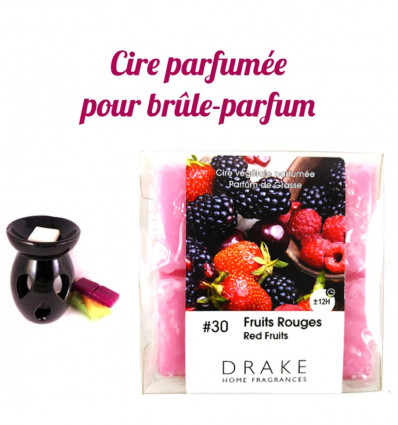 Air freshener fruit red Drake, vegetable wax scented, purchase.