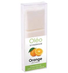 Cire végétale parfumée à l'huile essentielle d'orange Drake Oléo.