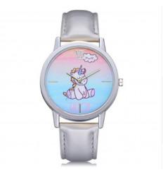 Orologio bambino modello unicorno rosa braccialetto