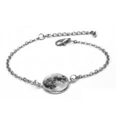 "Bracelet ""pleine lune"" phosphorescent"