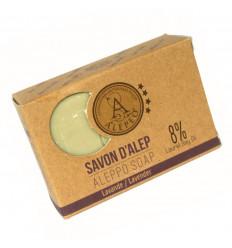 Savon d'Alep parfum lavande. Savon d'Alep naturel achat pas cher.
