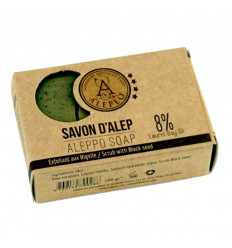 Di Aleppo sapone scrub con semi di cumino nero. acquistare a buon mercato.
