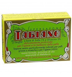 Soap sulfur Tabiano anti acne. Supersapone Tabiano not expensive.