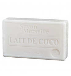 Soap of coconut milk, formulation of natural vegetable.