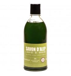 Gel douche naturel au savon d'alep et huile de baie de laurier.