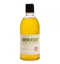 Gel douche naturel au savon d'alep parfum jasmin, achat pas cher.
