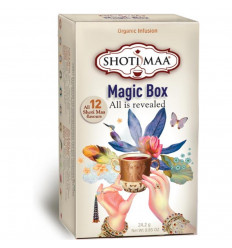Shoti Maa Magic Box. Assortment of 12 teas and infusions bio.