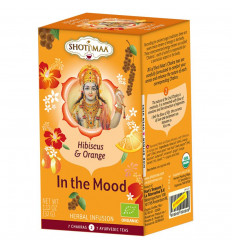 Herbal infusion ayurvedic organic hibiscus orange chakra 2 Shoti Maa .