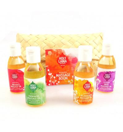 Massage oil professional aurvédique natural organic, purchase.