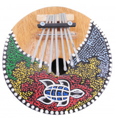 Kalimba or Karimba, original and artisanal musical instrument.