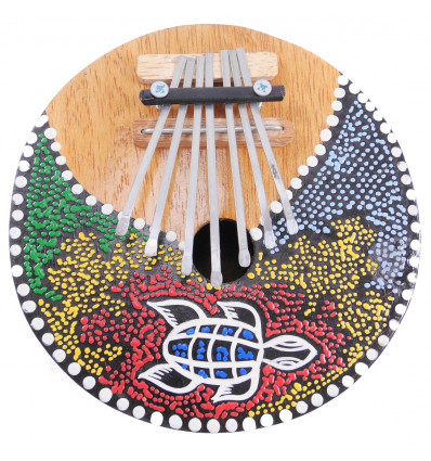 Kalimba ou Karimba, instrument de musique original et artisanal.