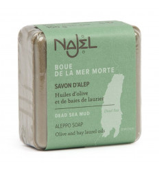 Alep soap face and neck in the mud of the dead sea. Regenerating treatment.