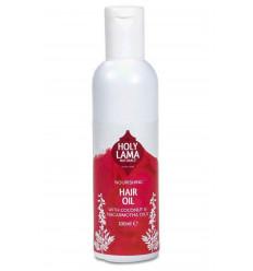 Olio per capelli naturale, nutriente naturale e vegana.