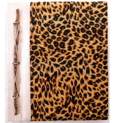Photo Album Leopard pattern, 40 views. Built by hand, crafts from Bali.