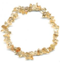 Bracelet baroque citrine, pierre de joie de vivre, achat pas cher.