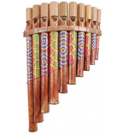 Flauto di pentola in bambù artigianale. 10 registratori a basso costo.