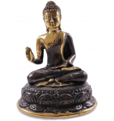 Buddha Statue Shakyamuni bronze * H17cm. Import direct from Asia.