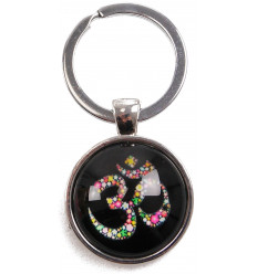 Door-key cabochon Maneki Neko Cat lucky