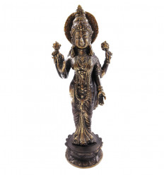 Statuette Vishnu bronze H12cm. Crafts asian.