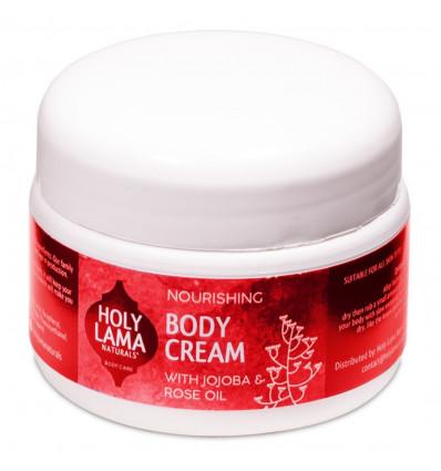 Nourishing cream vegan jojoba oil, cream ayurvedic.