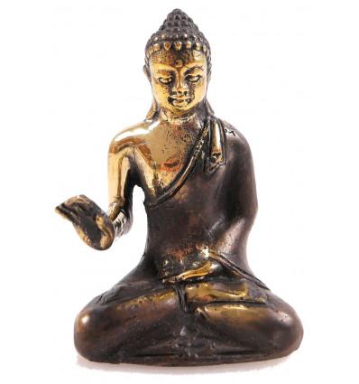 Statuette Buddha Zen bronze H11cm. Import Asia.