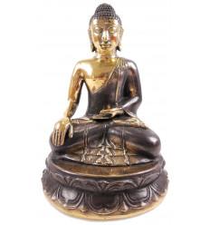 Statua in bronzo del Buddha H24cm. Creazione realizzata artigianalmente in serie limitata.