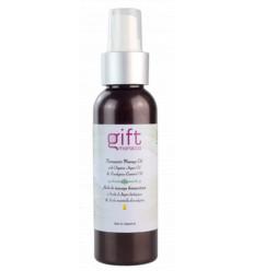 Biologico olio da massaggio con olio di Argan e di eucalipto - 100 ml