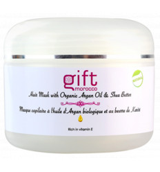 Hair mask with Organic Argan Oil and Shea Butter - 200g