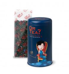 """Black tea earl grey bio. Tea, premium Gold Tea?"""" - Bergamot and Cornflower."""