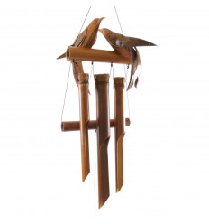 Carillon di bambù vento e cocco - Giraffa