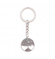 Porte-clef en métal Arbre de Vie