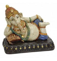Ganesh statuette 16cm finition laque brillante.
