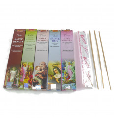 "Assortment of incense indian ""Golden Nag"" 5x15g brand Vijayshree."