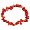 Bracelet baroque Jaspe rouge naturel