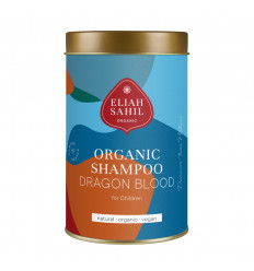 Shampoo in Polvere per il bambino. Sangue di drago BIOLOGICA, Vegana, rifiuti Zero.