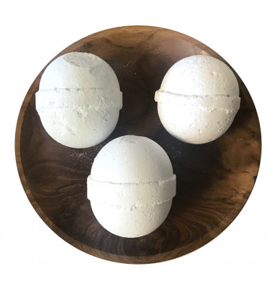 Box 3 Balls of bath effervescent - Trio well-being aromatherapy