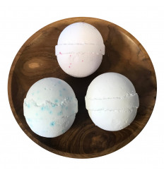 Box 3 Balls of bath effervescent - Trio relaxing aromatherapy