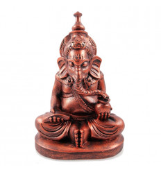 Ganesh dieu à tête d'éléphant, statuette achat pas cher.
